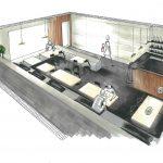 Salle du café restaurant V1 BIS